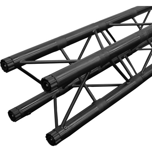"Odyssey Innovative Designs Nexus 10 x 10"" Square Truss Section (Black, 20"")"