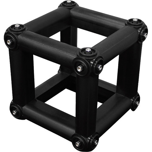 "Odyssey Innovative Designs Nexus 10 x10"" Square Cube Connector for Folding Truss (Black)"