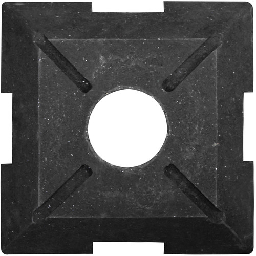 "Odyssey Innovative Designs Nexus DJ Truss Plate (Black, 16 x 16"")"