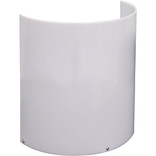 "Odyssey Innovative Designs 15"" High Uplighting Decor Shield , White"
