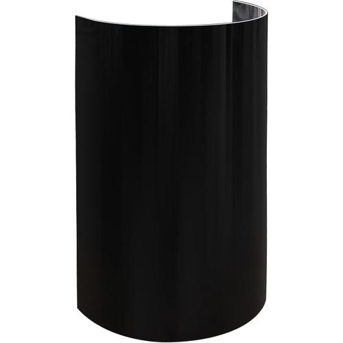 "Odyssey Innovative Designs 20"" High Uplighting Decor Shield , Black"