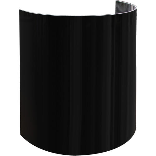 "Odyssey Innovative Designs 15""-High Uplight Decor Shield (Set of 8 Pieces, Black)"