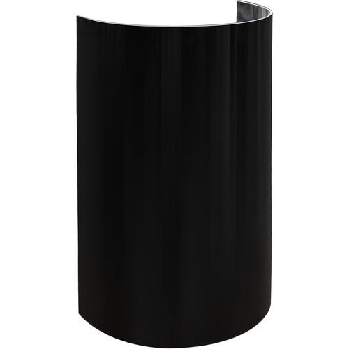 "Odyssey Innovative Designs 20""-High Uplight Decor Shield (Set of 8 Pieces, Black)"