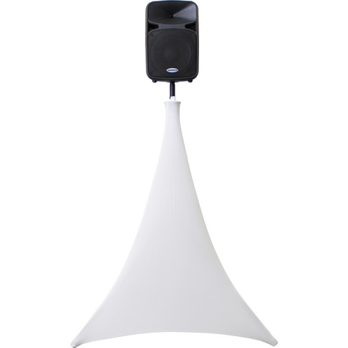 Odyssey Innovative Designs SWLTPS-WHT-C Scrim Werks 360° Tripod Stand Slip Screen with O-Clamp (White)
