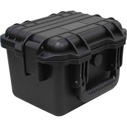 Odyssey Innovative Designs Watertight & Dust-Proof Vulcan Series Version 2 Utility Case (Black, Small)