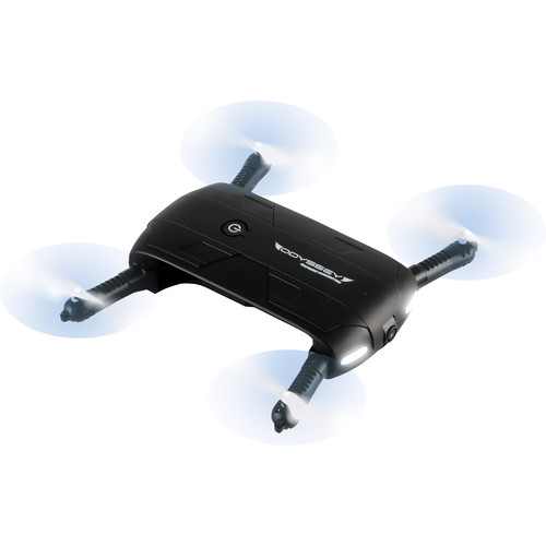Odyssey Toys Pocket Drone 2 with 720p HD Swivel Camera