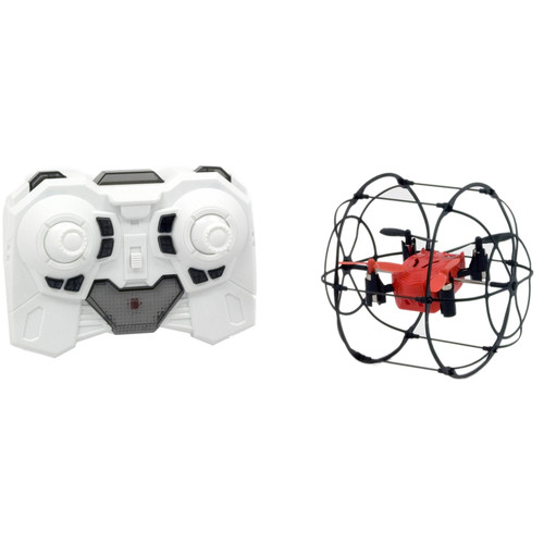 Odyssey Toys Turbo Runner Quadcopter in Protective Rolling Frame