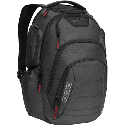 "OGIO Renegade RSS 15"" Laptop Backpack (Black Pindot)"