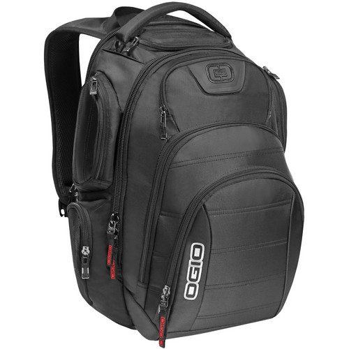"OGIO Gambit 17"" Laptop Backpack (Black)"