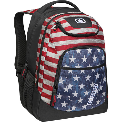 "OGIO Tribune 17"" Laptop Backpack (Stars & Stripes)"
