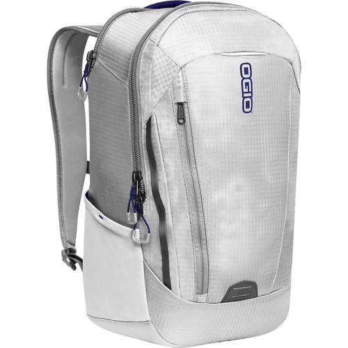 "OGIO Apollo Pack for 15"" Laptop (White/Navy)"