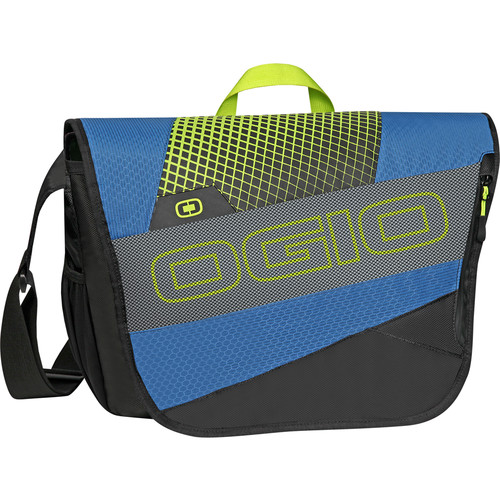 OGIO X-Train Messenger Bag (Navy/Acid)