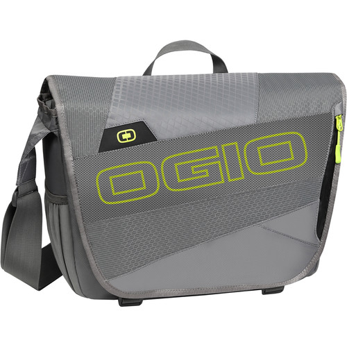 OGIO X-Train Messenger Bag (Dark Gray/Acid)