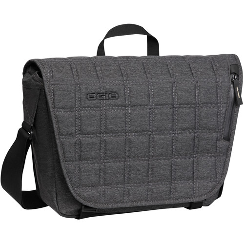 OGIO Newt Messenger Laptop Bag (Dark Static)