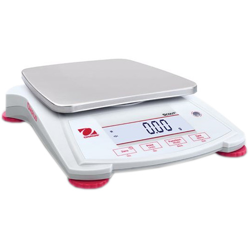 Ohaus Scout Portable Balance with 77.6 oz Capacity (0.1 g Linearity, 1 sec Stabilization Time)
