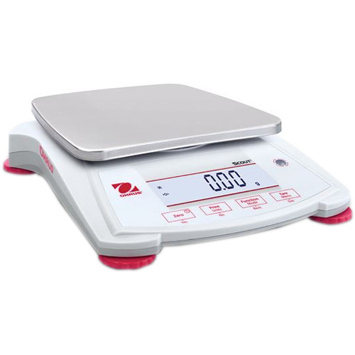Ohaus Scout Portable Balance with 77.6 oz Capacity (0.03 g Linearity, 1.5 sec Stabilization Time)