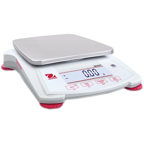 Ohaus Scout Portable Balance with 21.9 oz Capacity (0.1 g Linearity, 1 sec Stabilization Time)