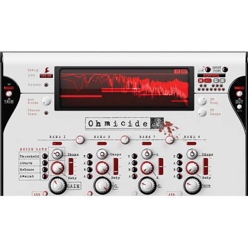 Ohm Force Ohmicide Multiband Distortion Software