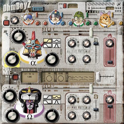 Ohm Force OhmBoyz - Stereo Multi-Tap Delay Plug-In (Native)