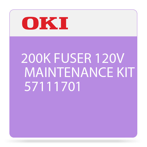 OKI 120V Fuser Maintenance Kit for B721 / B731 / MB760 / MB770 Printer (200,000 Pages)