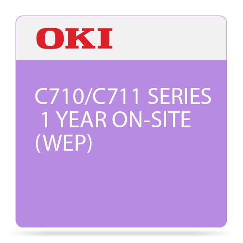 OKI 1-Year On-Site Warranty Extension Program for C710/C711 Series Printers