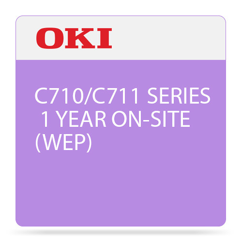OKI 1-Year On-Site Warranty Extension Program for C710/C711 Series Printers