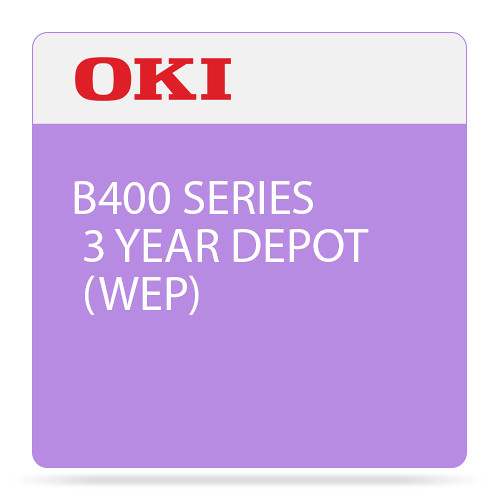 OKI 3-Year Depot Warranty Extension Program for B400 Series Printers