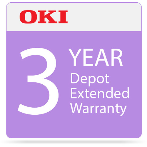 OKI 3-Year Depot Warranty Extension Program for C332 Series Printers