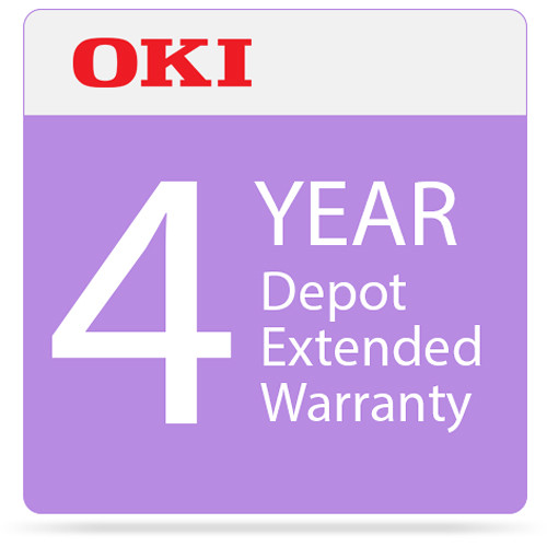 OKI 4-Year Depot Warranty Extension Program for C332 Series Printers