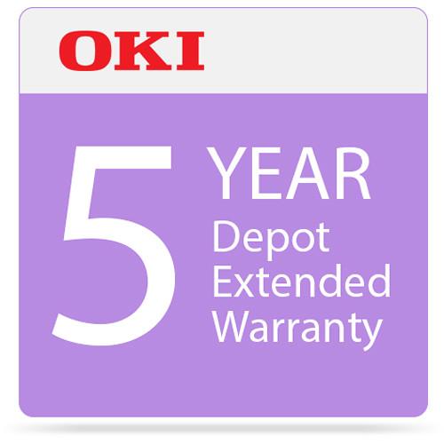 OKI 5-Year Depot Warranty Extension Program for C332 Series Printers