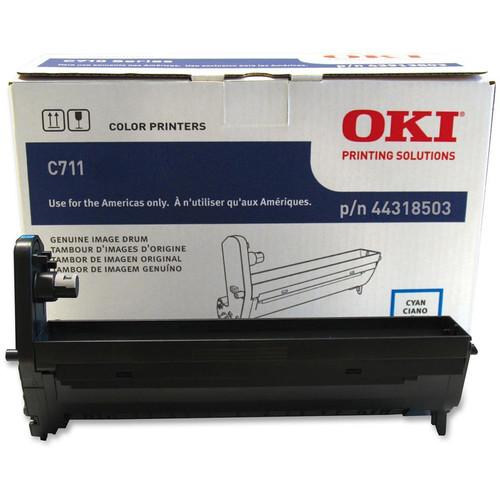 OKI Image Drum for C711 Series Printer (Yellow)