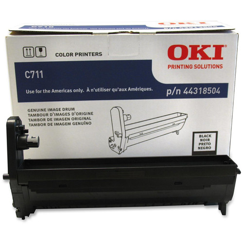 OKI C711 Series Black Image Drum