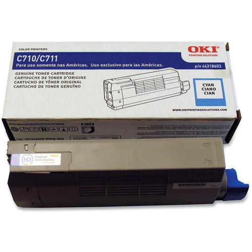 OKI C711 Series Cyan Toner Cartridge