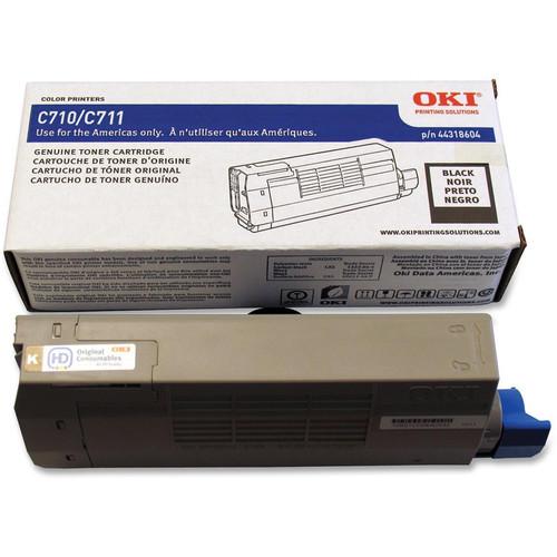 OKI C711 Series Black Toner Cartridge