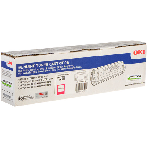 OKI 10K Magenta Toner Cartridge for C831 & MC873 Printers