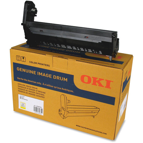 OKI Image Drum for MC770 / MC780 Series Printer (30,000 Pages, Yellow)