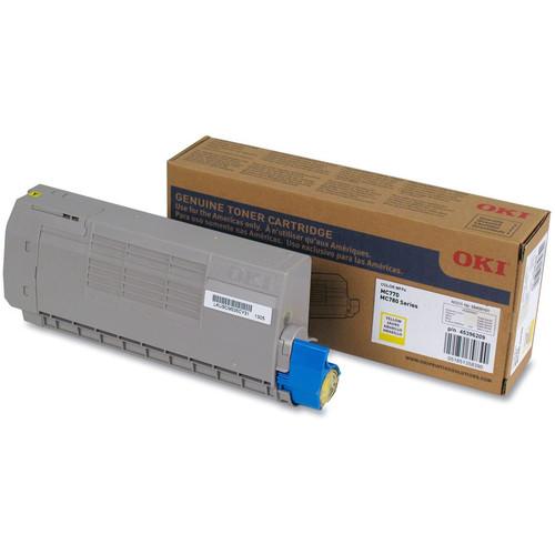 OKI Toner Cartridge for MC770/MC780 Series Printer (11500 Pages, Yellow)