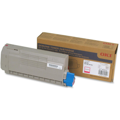OKI Toner Cartridge for MC770/MC780 Series Printer (11500 Pages, Magenta)
