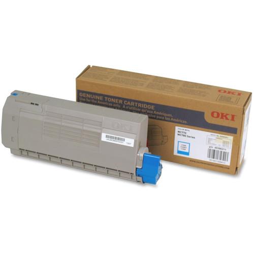 OKI Toner Cartridge for MC770/MC780 Series Printer (11500 Pages, Cyan)