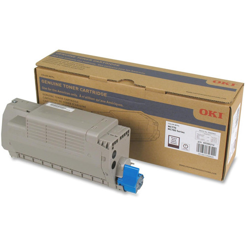 OKI Toner Cartridge for MC770/MC780 Series Printer (15000 Pages, Black)