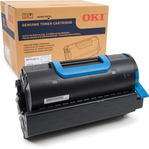 OKI Standard Toner Cartridge for MB770 Series / MB760 Printers