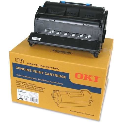 OKI Standard Capacity Black Print Cartridge for B721dn and B731dn LED Printers