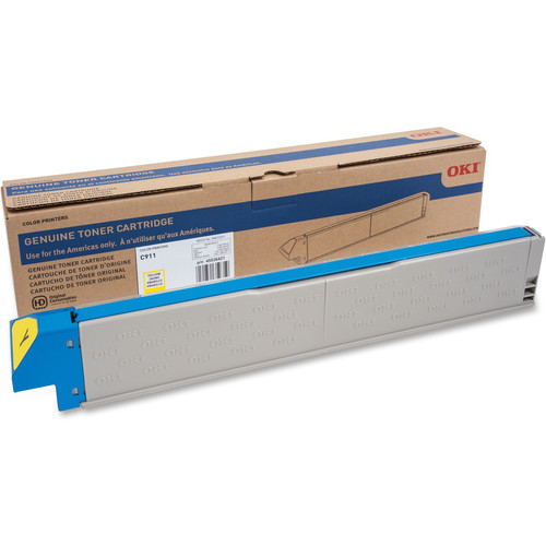 OKI 24K ISO Toner for C911 Printer (Yellow)