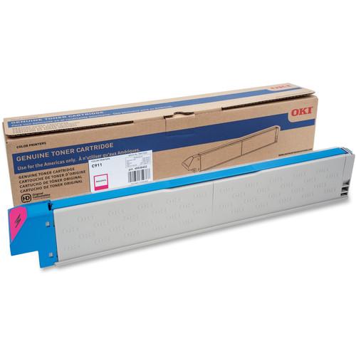 OKI 24K ISO Toner for C911 Printer (Magenta)