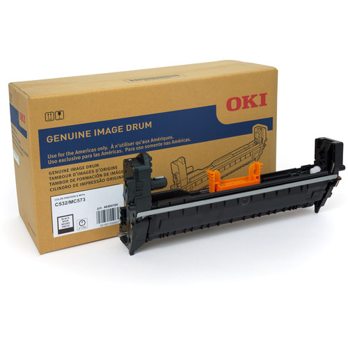 OKI Black Image Drum Kit for C532dn & MC573dn Color Printers