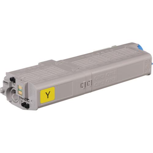OKI 3K Yellow Toner Cartridge for C532 & MC573 Printers