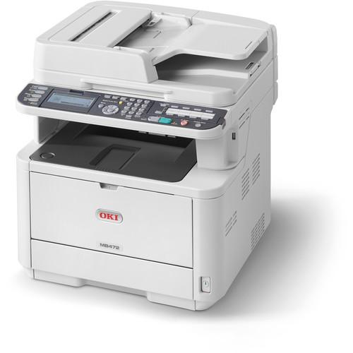 OKI MB472w All-in-One Monochrome LED Printer