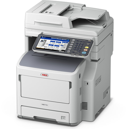 OKI MB770+ All-in-One Monochrome LED Printer