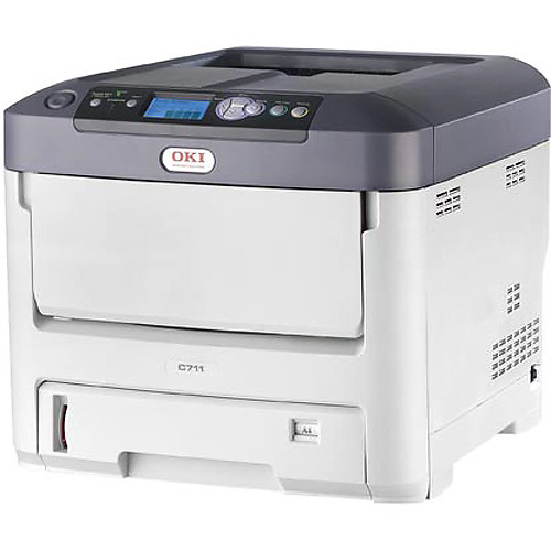 OKI C711dn Color LED Printer (120 VAC)
