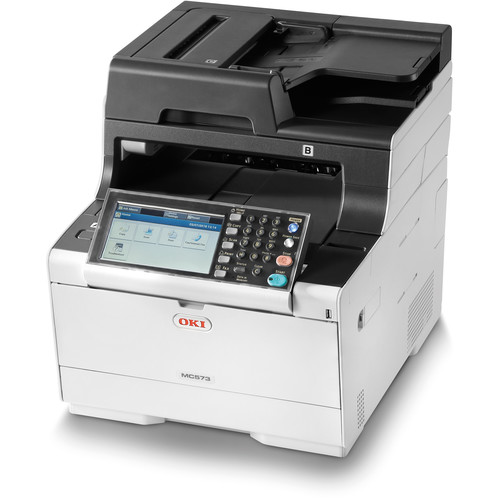 OKI MC573dn All-in-One Color Laser Printer